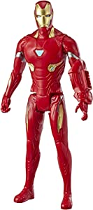 "Avengers Marvel Endgame Titan Hero Series Iron Man 12""-Scale Super Hero Action Figure Toy with Titan Hero Power Fx Port"