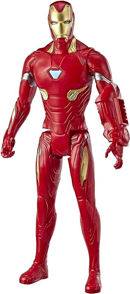 "12/"" Avengers Marvel Titan Hero Series Iron Man Action Figure Kids Collection Toy"