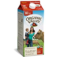 Organic Valley, Organic Whole Milk, Ultra Pasteurized, Half Gallon, 64 Ounces
