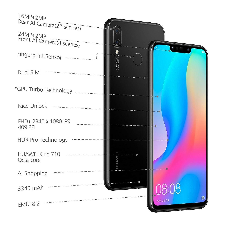 63ae658e524 Huawei Nova 3i (Black