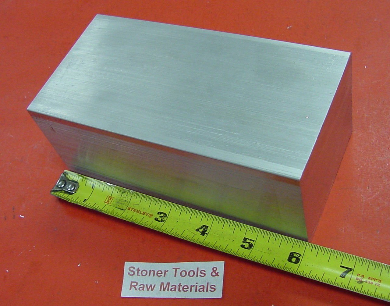 "3/"" X 4/"" ALUMINUM 6061 FLAT BAR 5.0/"" LONG SOLID T6511 3.00/"" Plate Mill Stock"