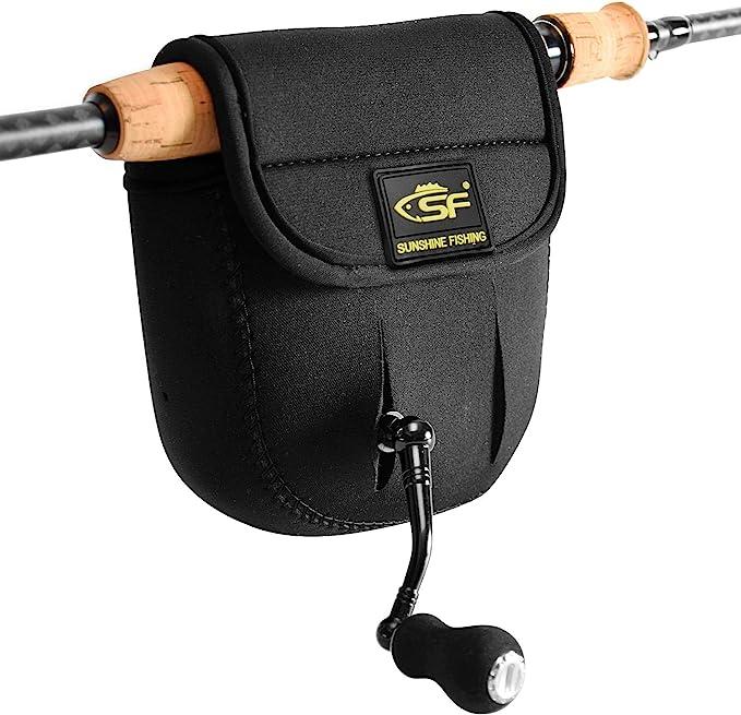 Durable Casting Reel Case Protective Wheel Cover Baitcasting Fishing Reel Bag VG