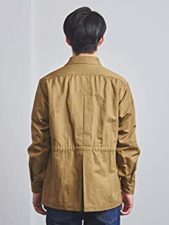 Cotton Linen Safari Jacket 1125-139-7192: Beige