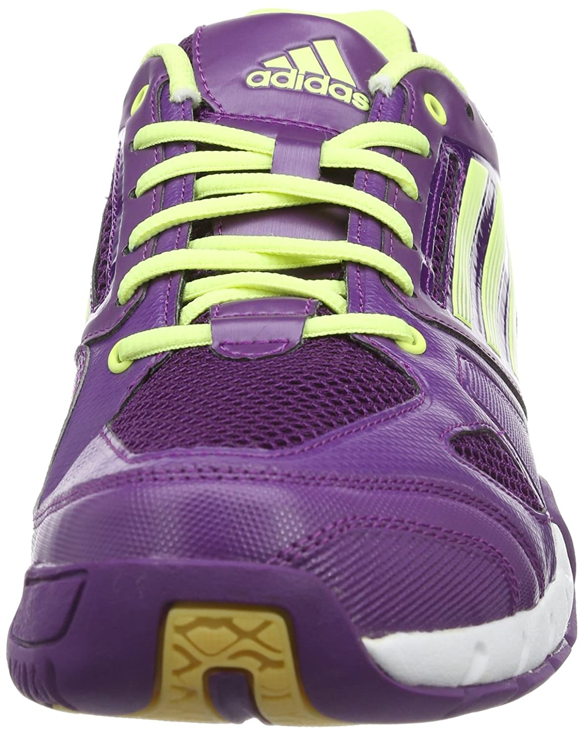 huge selection of 18161 50eb7 adidas Volley Team D66801 Damen Volleyballschuhe, Violett (tribe purple  s14running whiteglow s14), EU 38 23 (UK 5.5) Amazon.de Schuhe   Handtaschen