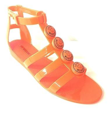 8b50c743a92f Moschino Women s Sandals Orange Size  6.5  Amazon.co.uk  Shoes   Bags