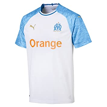 7dbf93aa69 Puma Olympique de Marseille Home Maillot Homme: Amazon.fr: Sports et Loisirs