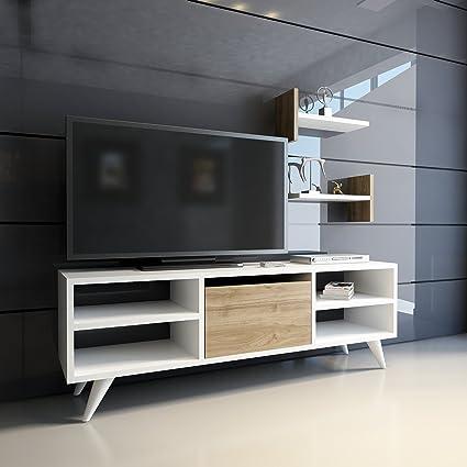 . Amazon com  Decorotika   AIFA 47  Modern TV Stand Entertainment