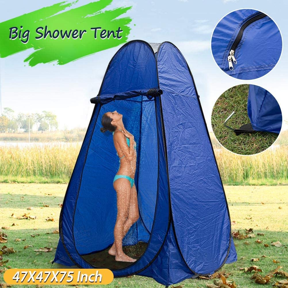 Draulic Tente de toilette pop-up portable 120 190 cm