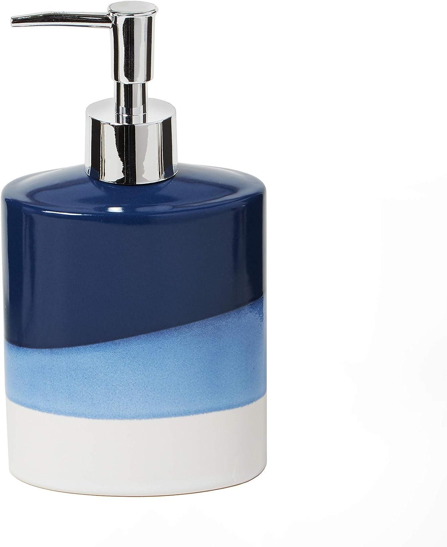 Amazon Com Skl Home By Saturday Knight Ltd Alanya Soap Dispenser Blue Home Kitchen