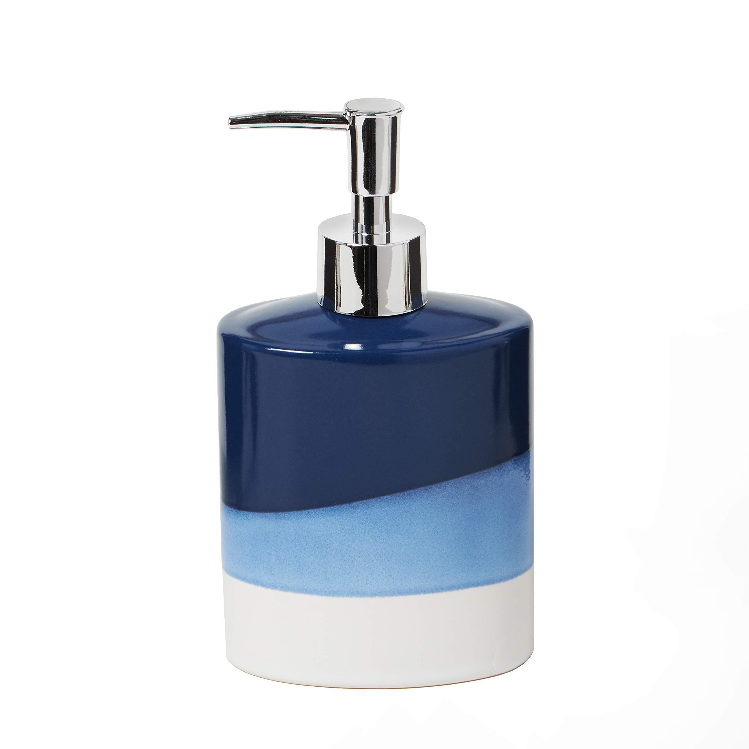 SKL HOME by Saturday Knight Ltd. Alanya Soap Dispenser, Blue