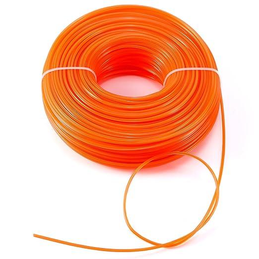 Hamimelon Cuerda de recambio para cortacésped de nailon de alta ...