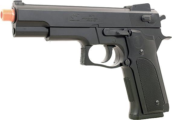 BBTac BT-M24 Airsoft Gun Spring Pistol - Powerful 300 FPS