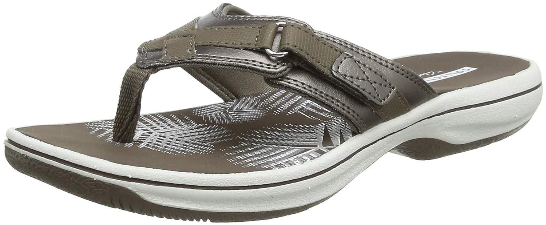 ce7fcc7eba4 Clarks Women s Brinkley Sea Flip Flops  Amazon.co.uk  Shoes   Bags