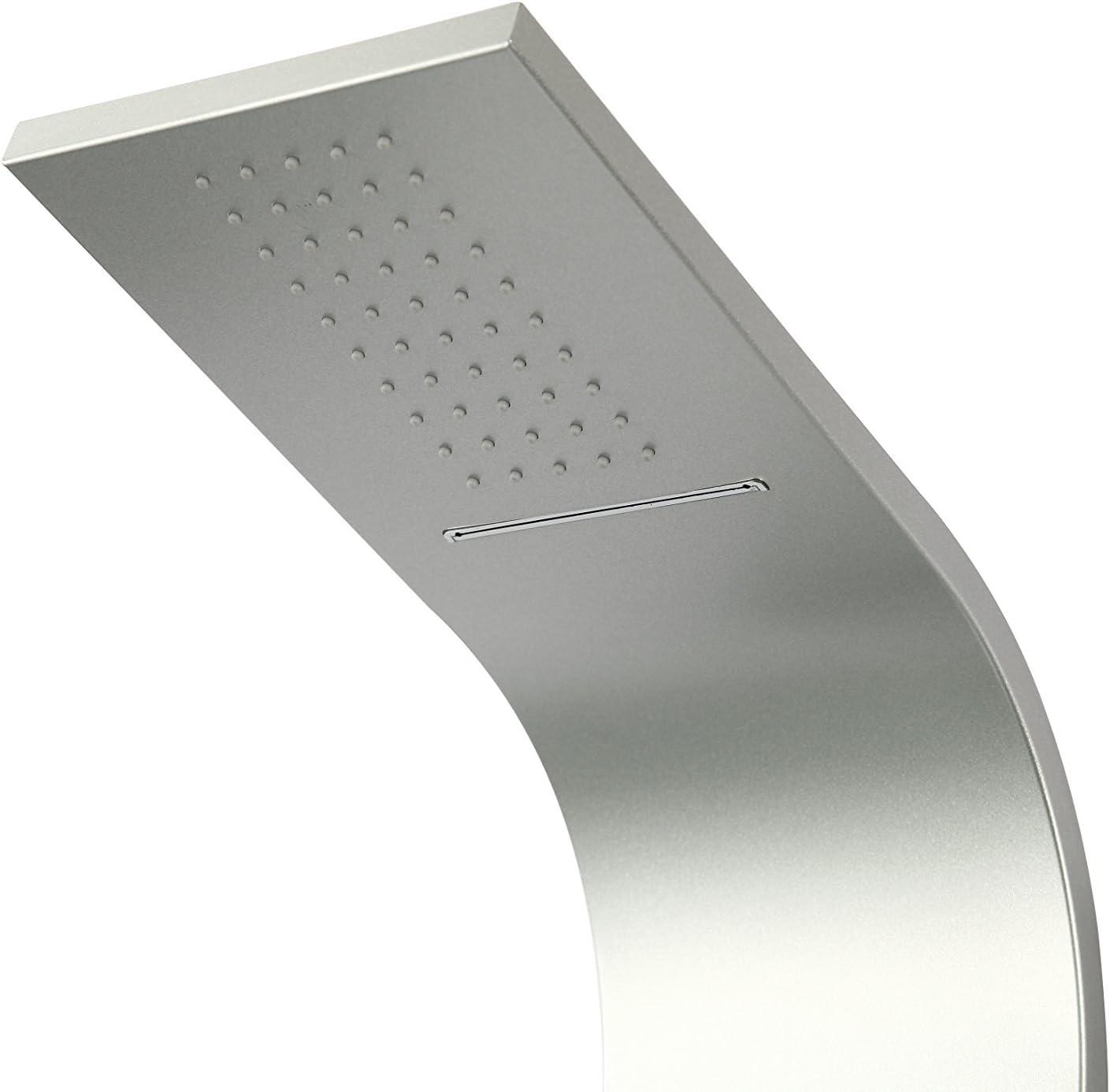 DP Grifería HID-0004 Columna de hidromasaje de modelo Madeira, Plateado: Amazon.es: Bricolaje y herramientas