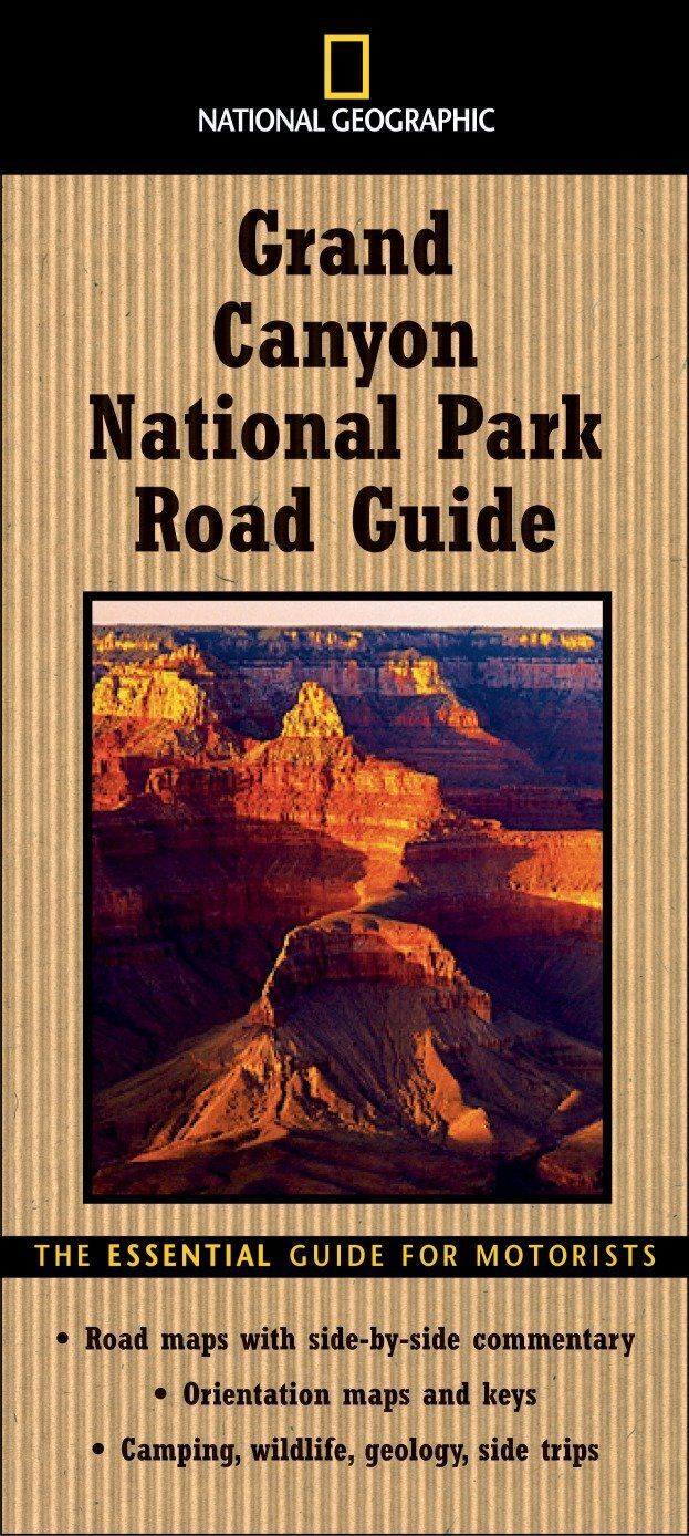 National Geographic Road Guide to Grand Canyon National Park ... on niagara falls road map, mexico city road map, coconino national forest road map, boise national forest road map, rock creek park road map, point reyes national seashore road map, 95 east coast usa map, all national parks usa map, flathead national forest road map, united states road map, yellowstone national park wildlife map,
