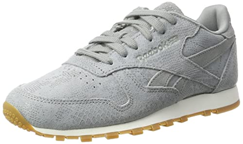 a6ff880f44bf5 Reebok Women s Classic Leather Clean Exotics Low-Top Sneakers ...