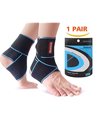 d7b53e80ff91 Ankle Support 1 Pair, Adjustable Velcro Ankle Brace for Men/Women, Ankle  Wrap. #2