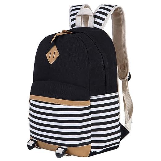 11 opinioni per Tela Zaino da Donna/Ragazze per Scuola Viaggi Trekking Backpack Canvas Casual