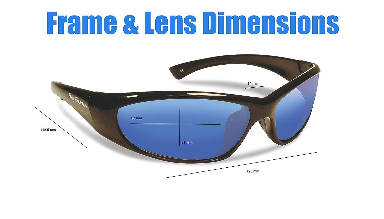 5b5e8699ee Amazon.com   Flying Fisherman Fluke Jr. Angler Kid s Polarized Sunglasses  (Shiny Black Frame