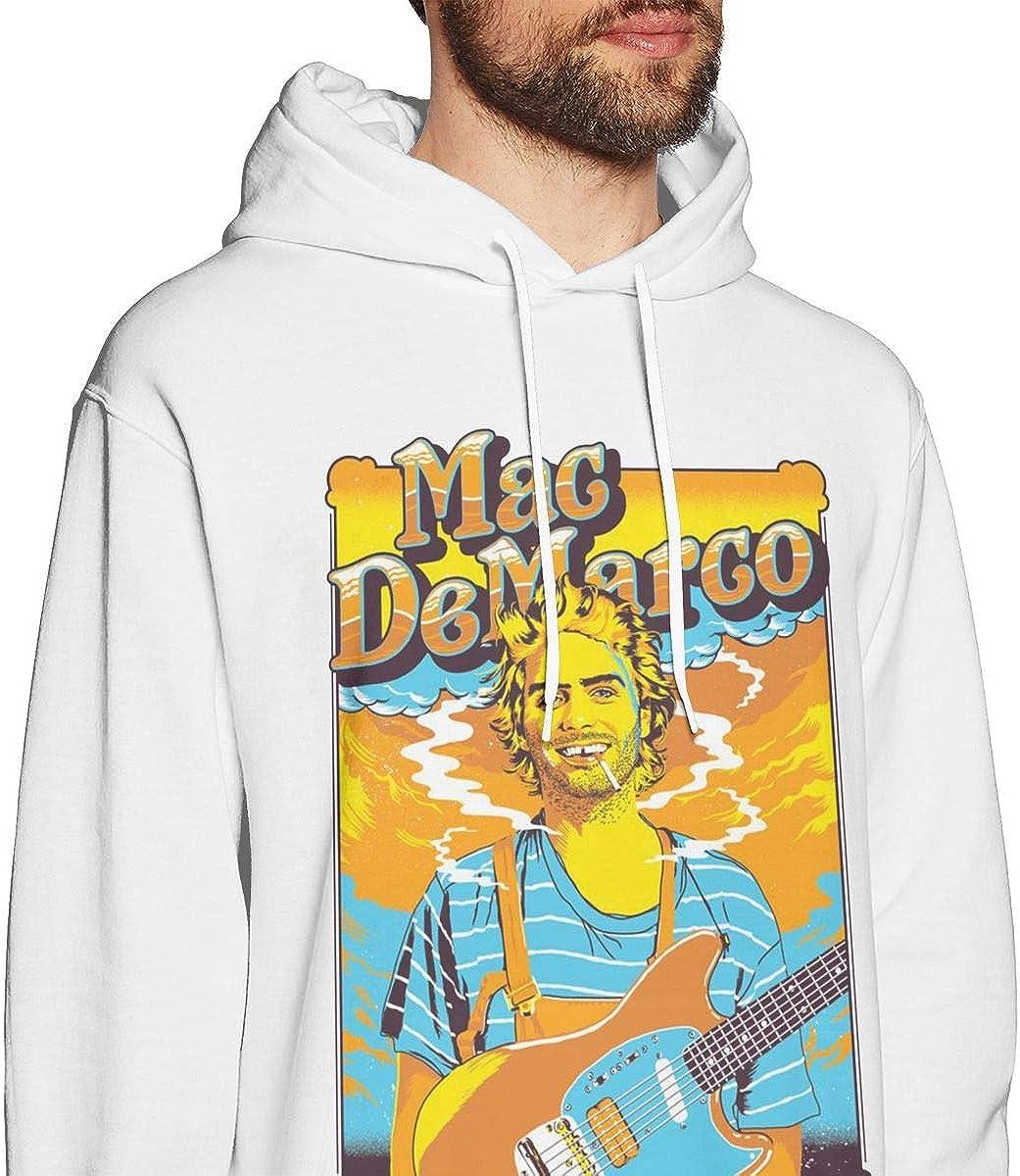 Mens Hoodie Sweatshirt Mac One-Demarco Sweater Black