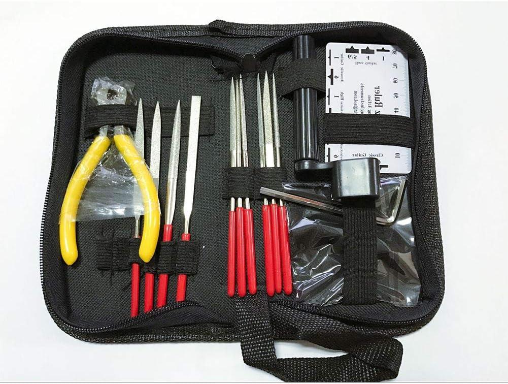 Kit de reparación para mantenimiento profesional para kit de herramientas de guitarra bajo electroacústica