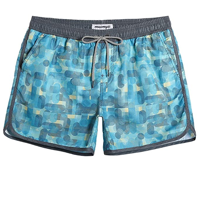 Quick Swimsuits Trunks Mesh Board Retro Mens Classic Swim 80s Shorts With Vintage Dry Maamgic Lining 90s Nnwmv80