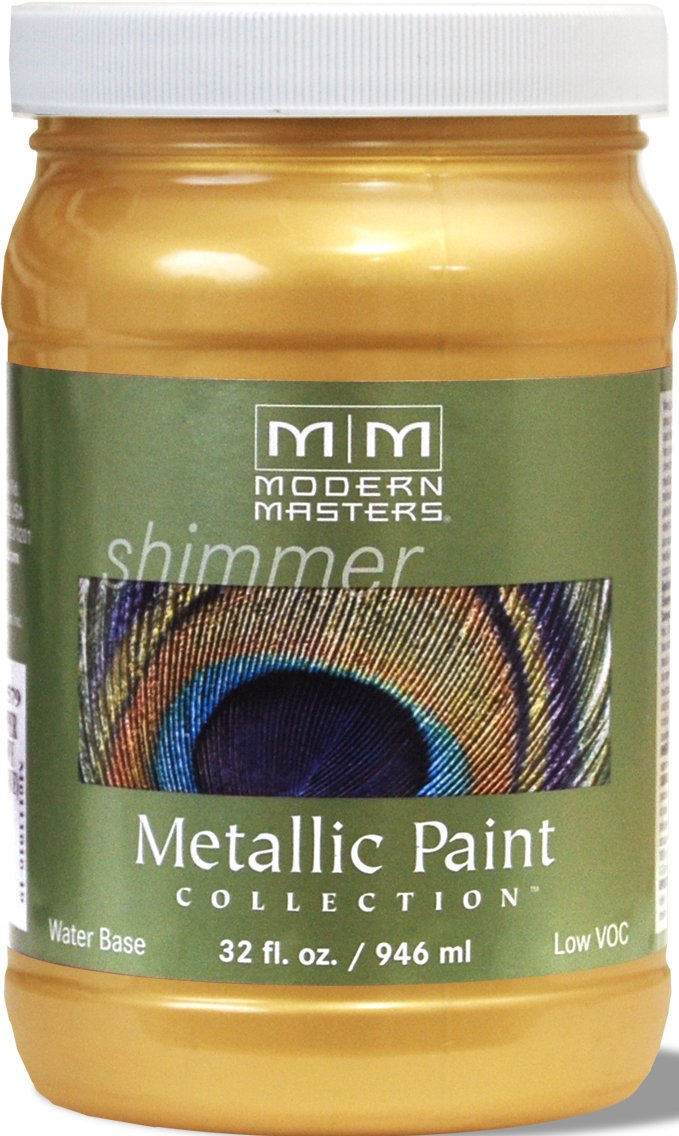 Modern Masters ME658-32 Metallic Gold Rush, 32-Ounce