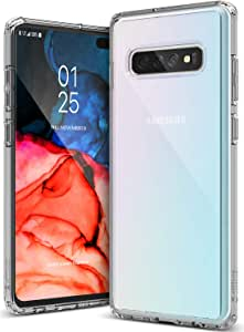 Caseology Waterfall for Galaxy S10+ Plus Case (2019) - Minimal & Transparent - Clear