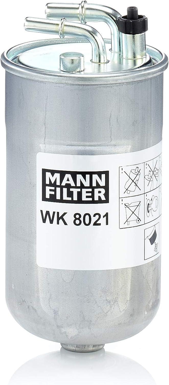 Mann Filter WK 8021 Filtro de Combustible, para automóviles ...