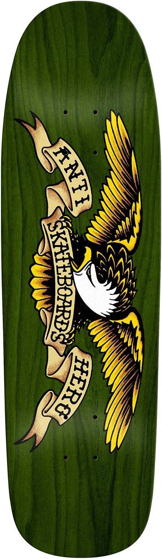 Antihero Shaped Eagle Green Giant Deck Green 9.56