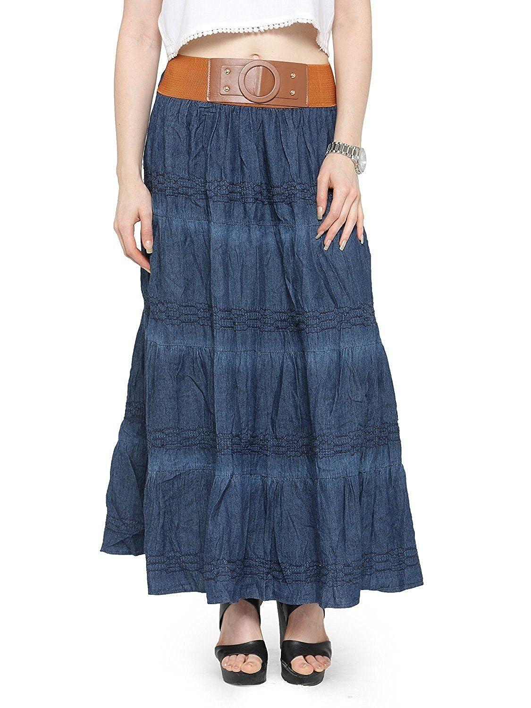 f5952bbb5 Denim Maxi Skirt India   Huston Fislar Photography