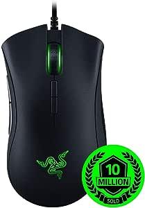 Razer Deathadder Elite Gaming Mouse (chroma Multi-Color, 16,000DPI Sensor and Razer mekanikarumaususuitti with Esports Mouse) [parallel import goods]