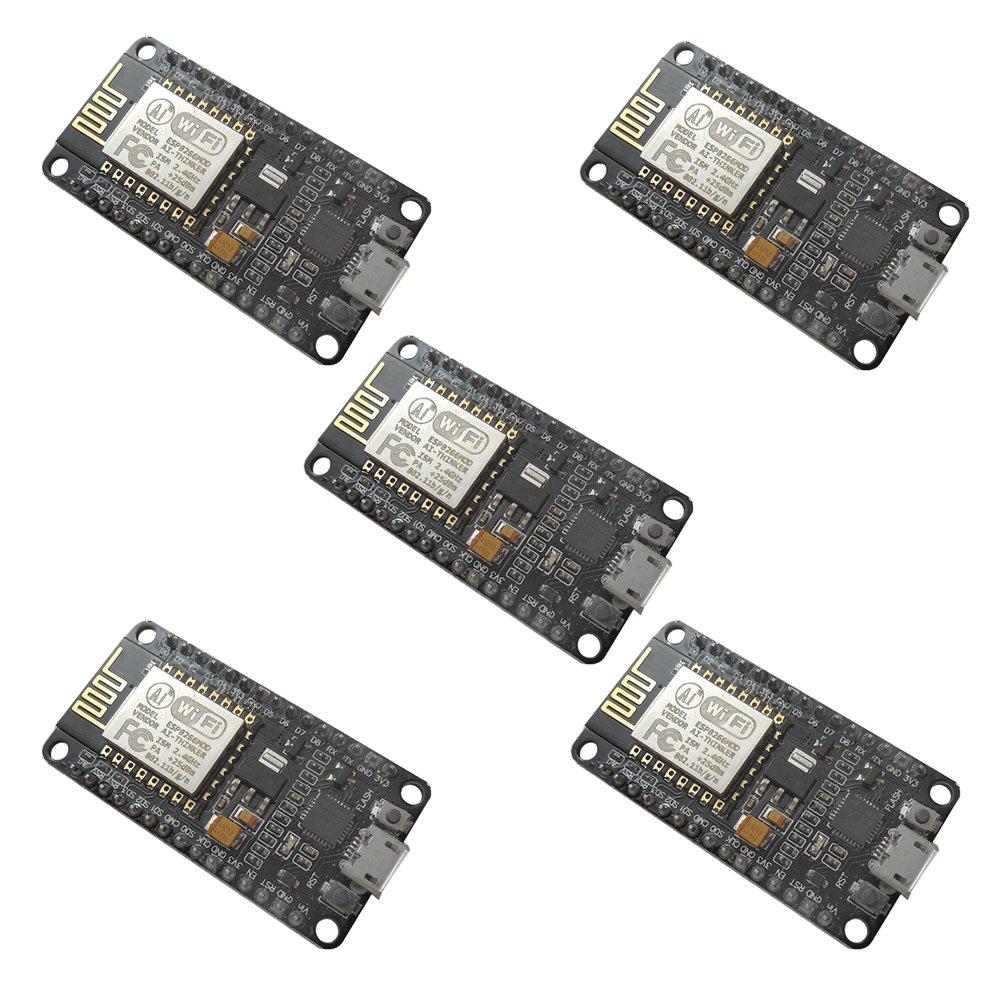 UEB 5x NodeMcu Lua ESP8266 ESP-12E CH340G WIFI Network Development Board Module by UEB