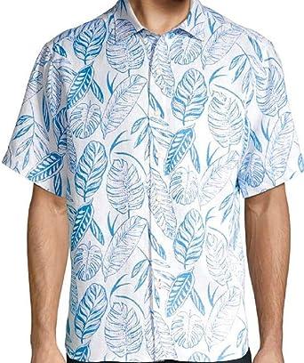 Tommy Bahama Azzano - Camisa con Botones para Hombre - Multi Color - Medium: Amazon.es: Ropa y accesorios