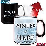 Game of Thrones - Winter is here - Farbwechsel-Tasse | Füllmenge 460 ml