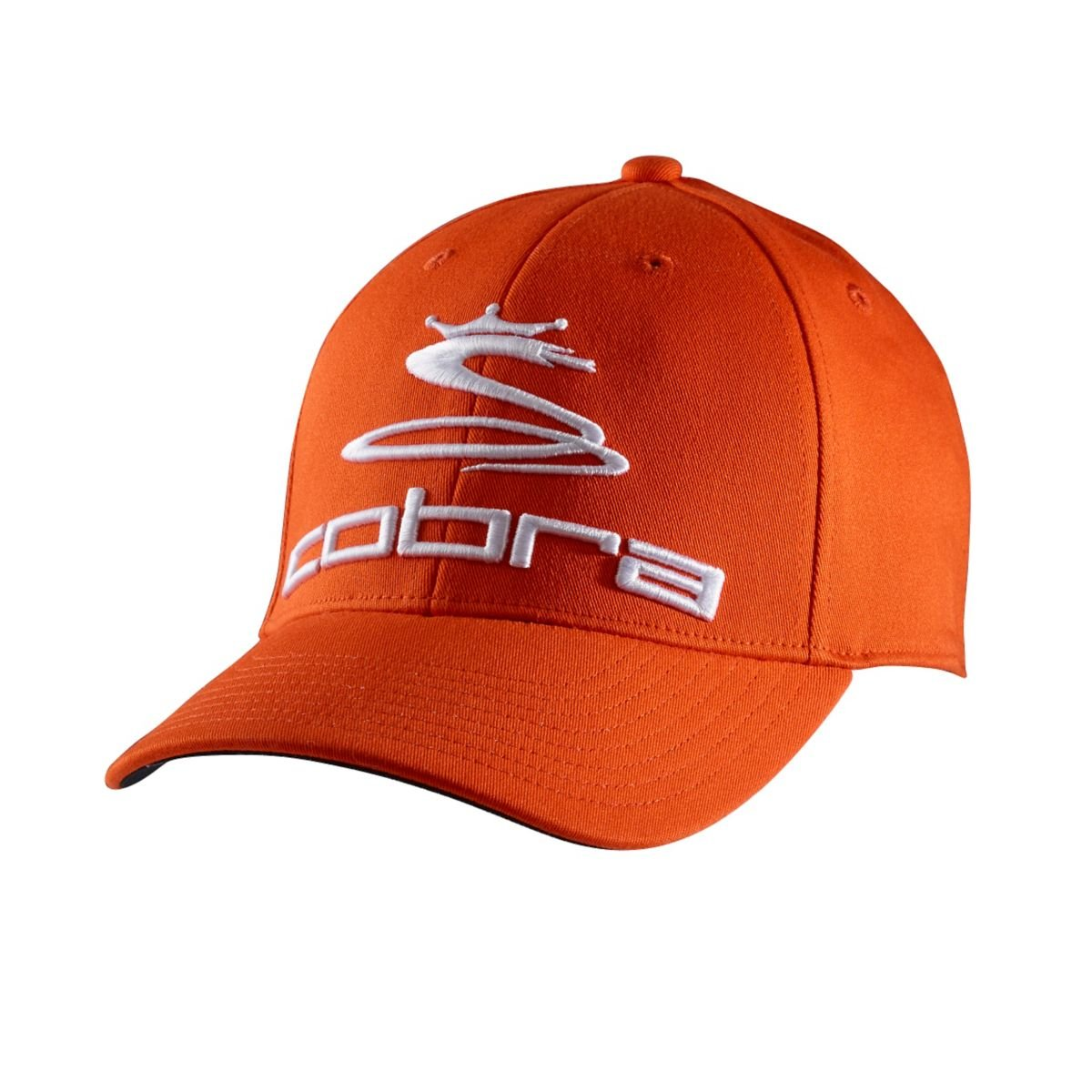 Amazon.com   Cobra YOUTH PRO TOUR CAP (Orange-White 38cfa7b0c6d