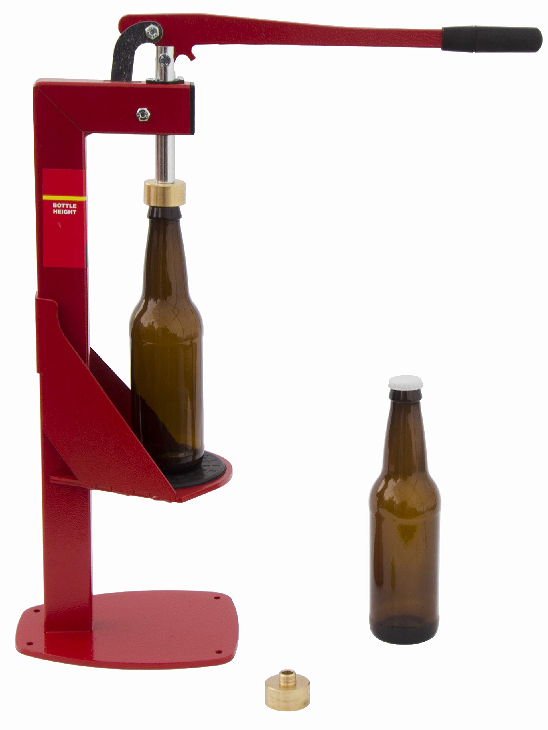 North Mountain Supply Heavy Duty All-Metal Easy Action Bench Bottle Capper
