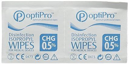 Toallitas con alcohol isopropilico 65 x 35-Caja 100u
