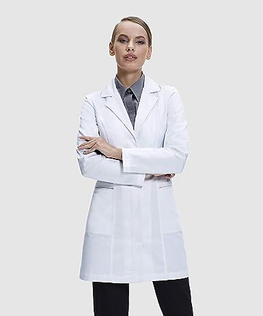 Dr. James Bata de Laboratorio Elegante Para Mujeres a Medida: Amazon.es: Ropa y accesorios