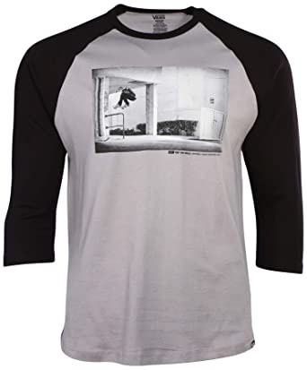 0947167060 Image Unavailable. Image not available for. Color  Vans Men s Off The Wall  Pix Raglan ...