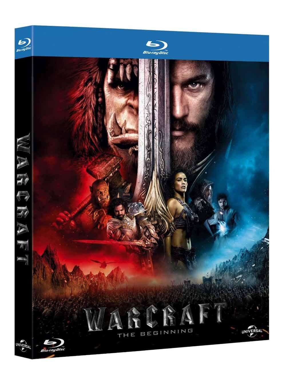 Warcraft - LInizio (Blu-Ray) [Italia] [Blu-ray]: Amazon.es: Clancy Brown, Travis Fimmel, Toby Kebbell, Paula Patton, Duncan Jones, Clancy Brown, Travis Fimmel: Cine y Series TV