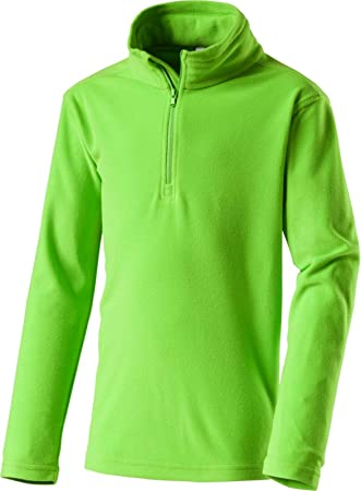 c54a81a081 McKINLEY Kinder Fleece Pullover Cortina II Ski Pullover Midlayer Grün,  Kinder Größe:140