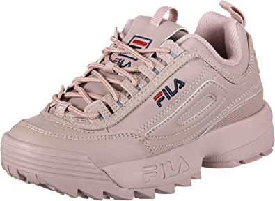 cd64f4b1bd74 Fila Women Sneakers Heritage Disruptor Low  Amazon.co.uk  Shoes   Bags
