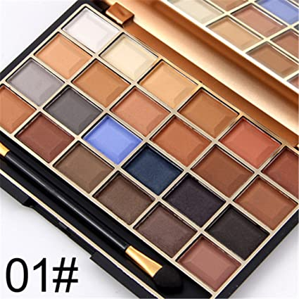 Gracelaza 24 Colores Paleta de Sombra de Ojos Mate de Cosmético - Opción Ideal Para el