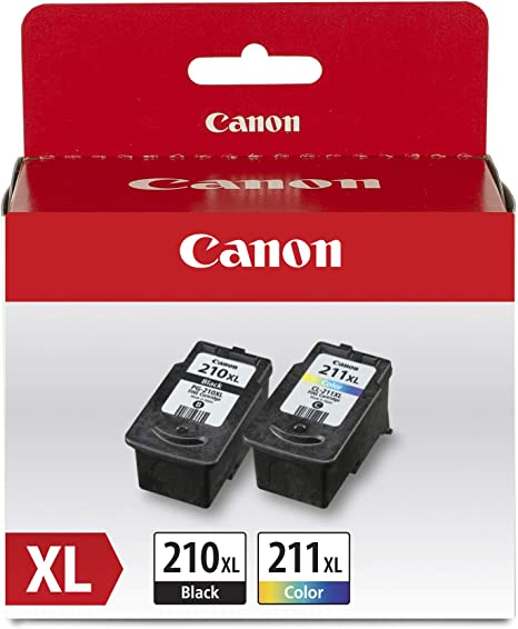 Amazon.com: Canon PG-210XL/CL-211XL Extra High ield Black ...