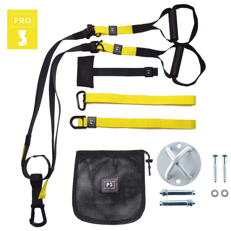 P3 Pro Schlingentrainer Sling Trainer Bodyweight Fitness Resistance Straps Trainer