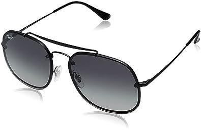 Amazon.com: Acero Ray-Ban Unisex anteojos de sol cuadrados ...