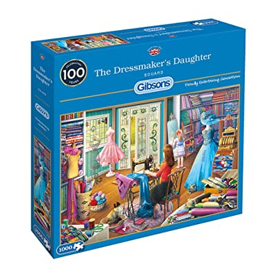 Gibsons The Dressmaker's Daughter Jigsaw Puzzle (1000 Pieces): Toys & Games