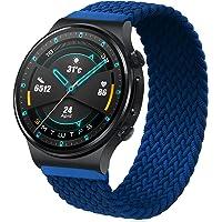 RIOROO 22 mm riem compatibel voor Garmin Vívoactive 4 riem, polsband, compatibel voor HUAWEI Watch GT 2 (46 mm), dames…