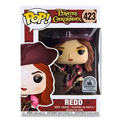 Funko Pop! Disney Pirates of The Caribbean Redd Disney Parks Exclusive: Toys & Games